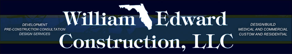 William Edward Construction Logo